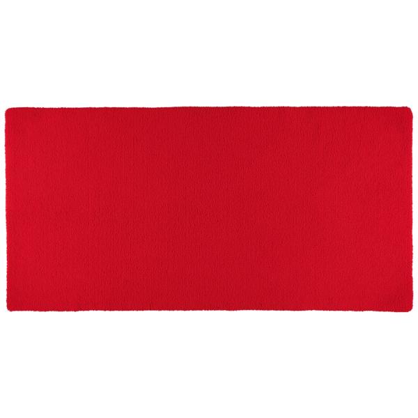 Rhomtuft - Badteppiche Square - Farbe: carmin - 18 80x160 cm