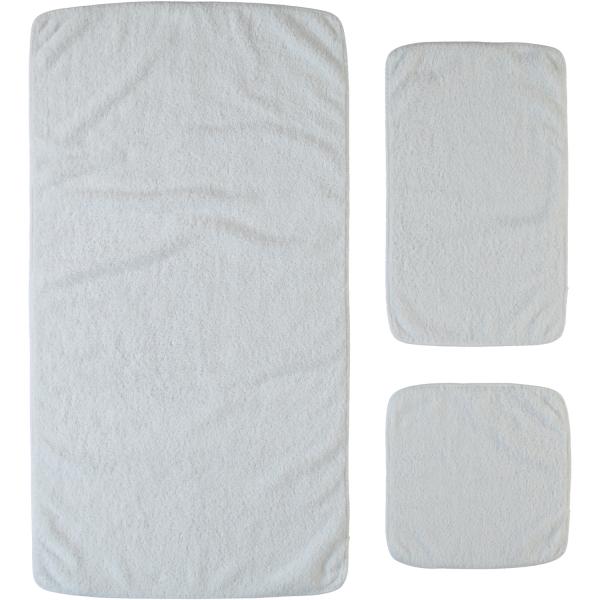 Rhomtuft - Handtücher Loft - Farbe: weiß - 01