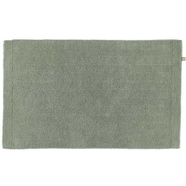 Rhomtuft - Badteppich Pur - Farbe: jade - 90 60x100 cm
