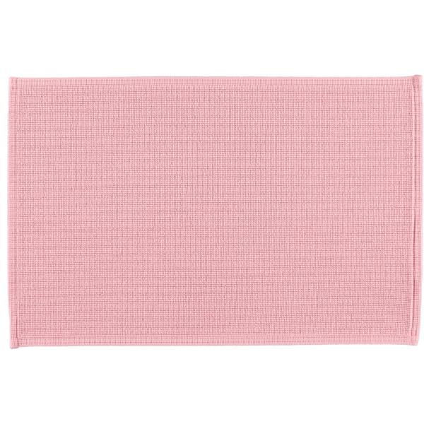 Rhomtuft - Badematte Plain - Farbe: rosenquarz - 402 60x90 cm