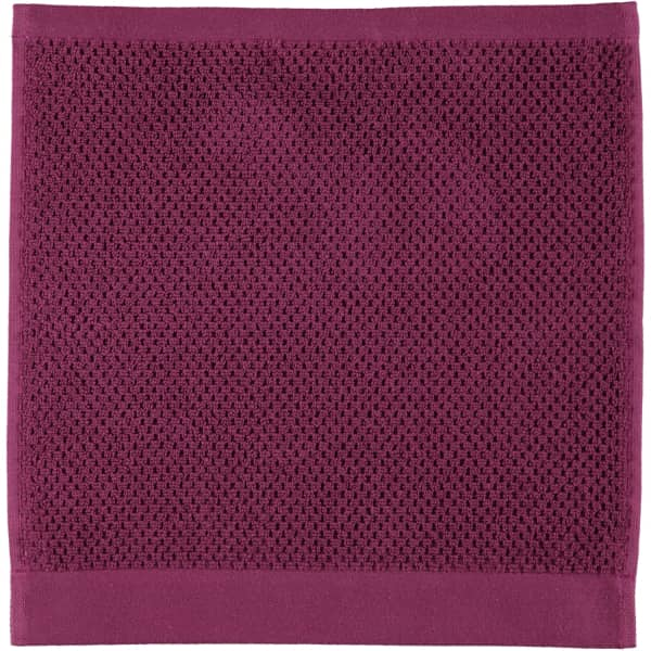 Rhomtuft - Handtücher Baronesse - Farbe: berry - 237 Seiflappen 30x30 cm
