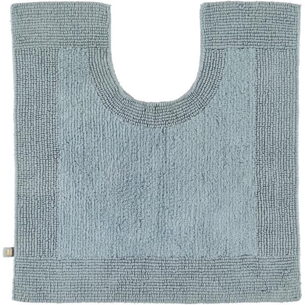 Rhomtuft - Badteppiche Prestige - Farbe: aquamarin - 400 Toilettenvorlage mit Ausschnitt 60x60 cm