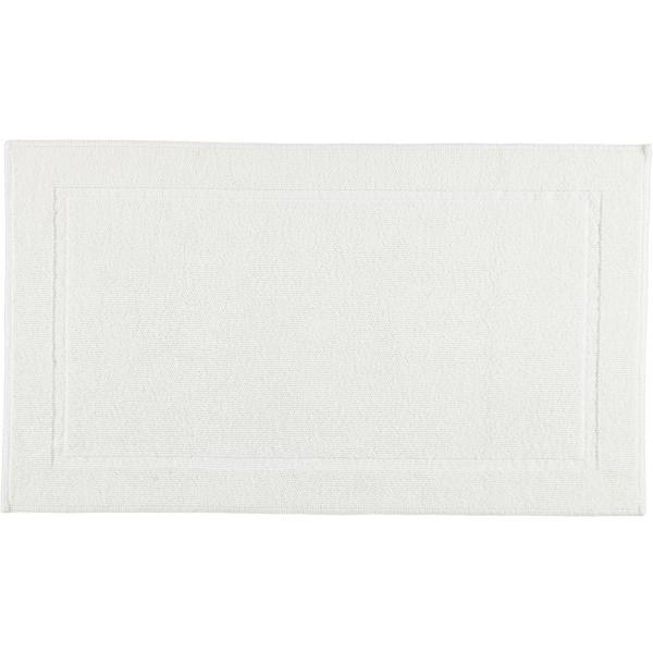 Rhomtuft - Badematte Pearl 51 - Farbe: weiß - 01 70x120 cm