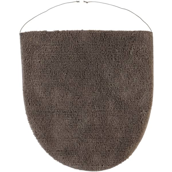 Rhomtuft - Badteppiche Prestige - Farbe: taupe - 58 Deckelbezug 45x50 cm