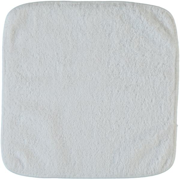 Rhomtuft - Handtücher Loft - Farbe: weiß - 01 Seiflappen 30x30 cm