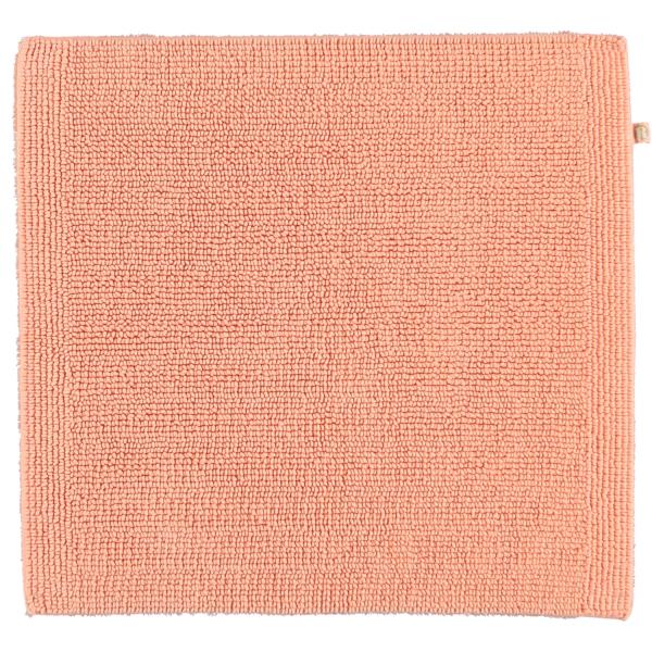 Rhomtuft - Badteppich Pur - Farbe: peach - 405 60x60 cm