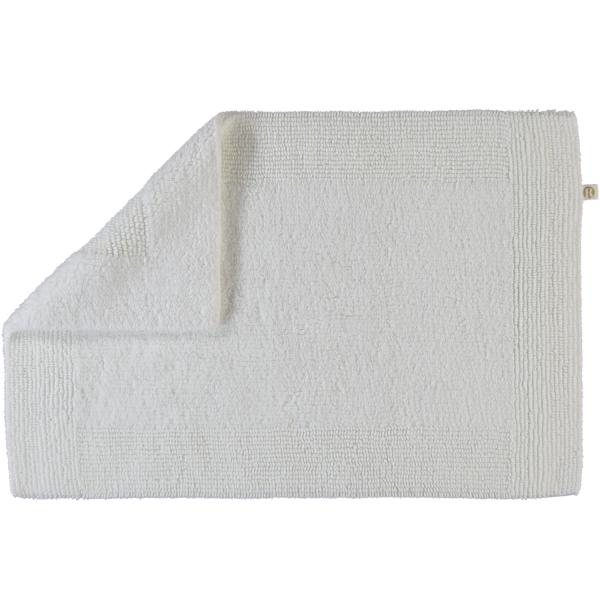 Rhomtuft - Badteppiche Prestige - Farbe: weiss - 01 45x60 cm