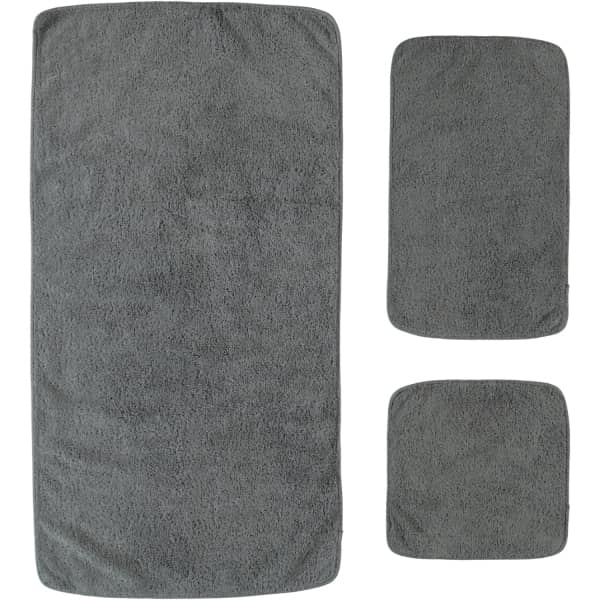 Rhomtuft - Handtücher Loft - Farbe: kiesel - 85