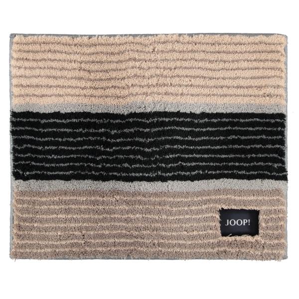 JOOP! Badteppich Lines 286 - Farbe: Natur - 020 50x60 cm