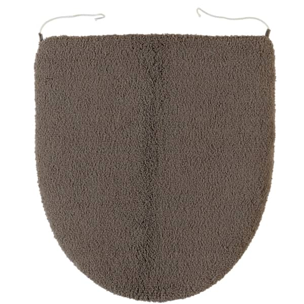 Rhomtuft - Badteppiche Aspect - Farbe: taupe - 58 Deckelbezug 45x50 cm