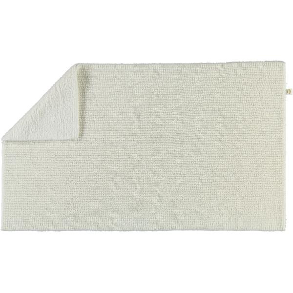 Rhomtuft - Badteppich Pur - Farbe: weiss - 01 70x130 cm
