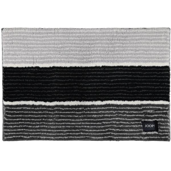 JOOP! Badteppich Lines 286 - Farbe: Anthrazit - 069 60x90 cm