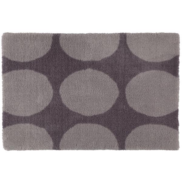 Rhomtuft - Badteppiche Hot - Farbe: kiesel - 85 50x60 cm