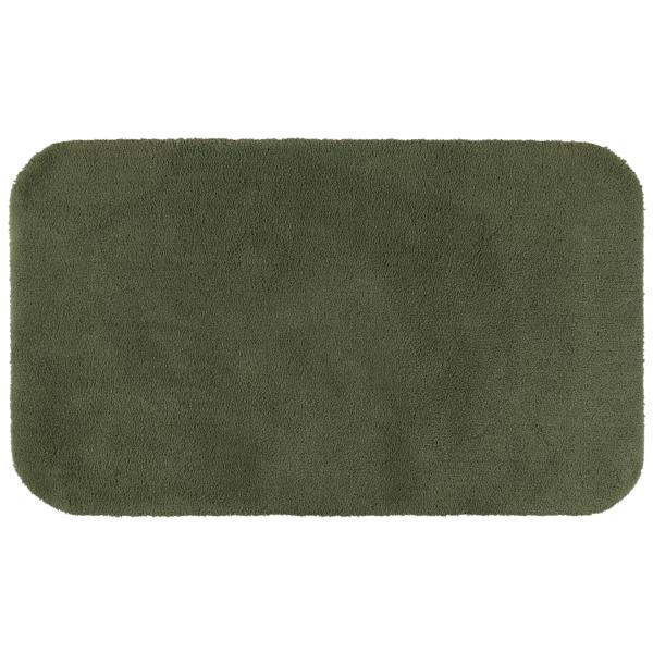 Rhomtuft - Badteppiche Aspect - Farbe: olive - 404 70x120 cm
