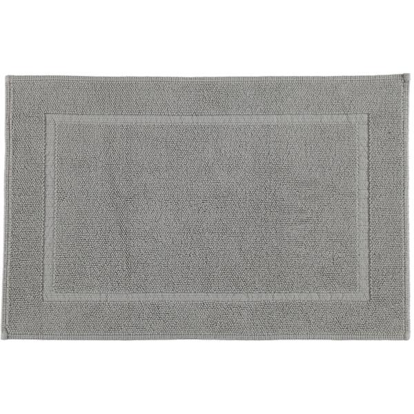 Rhomtuft - Badematte Pearl 51 - Farbe: kiesel - 85 60x90 cm