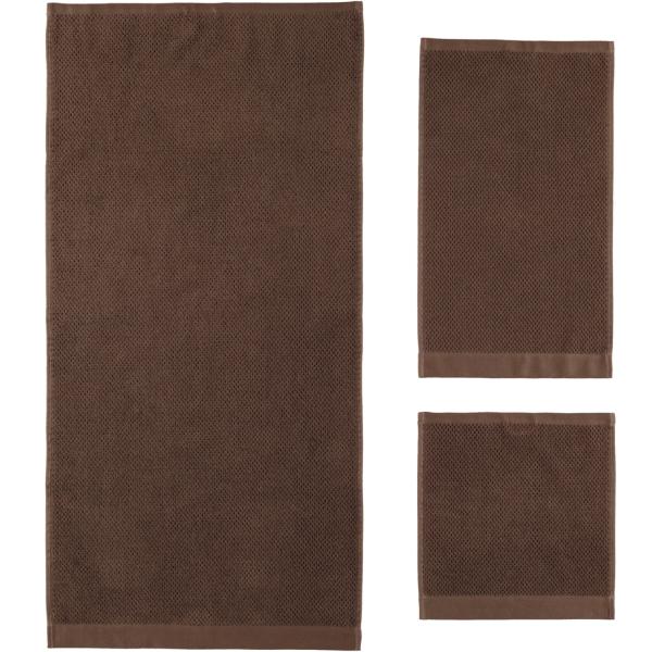 Rhomtuft - Handtücher Baronesse - Farbe: mocca - 406