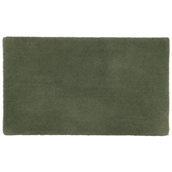 Rhomtuft - Badteppiche Square - Farbe: olive - 404 70x120 cm