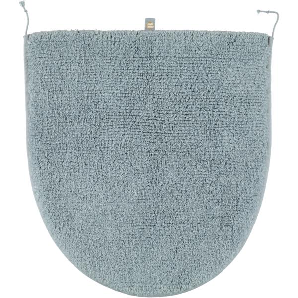 Rhomtuft - Badteppiche Prestige - Farbe: aquamarin - 400 Deckelbezug 45x50 cm
