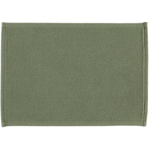 Rhomtuft - Badematte Plain - Farbe: olive - 404 50x70 cm
