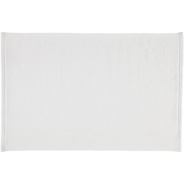 Rhomtuft - Badteppiche Plain - Farbe: weiss - 01 60x90 cm