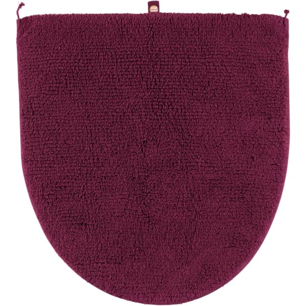 Rhomtuft - Badteppiche Prestige - Farbe: berry - 237 Deckelbezug 45x50 cm