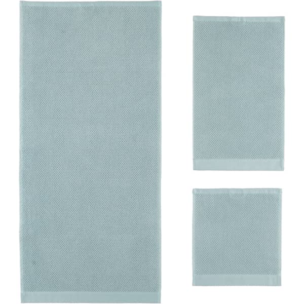 Rhomtuft - Handtücher Baronesse - Farbe: aquamarin - 400