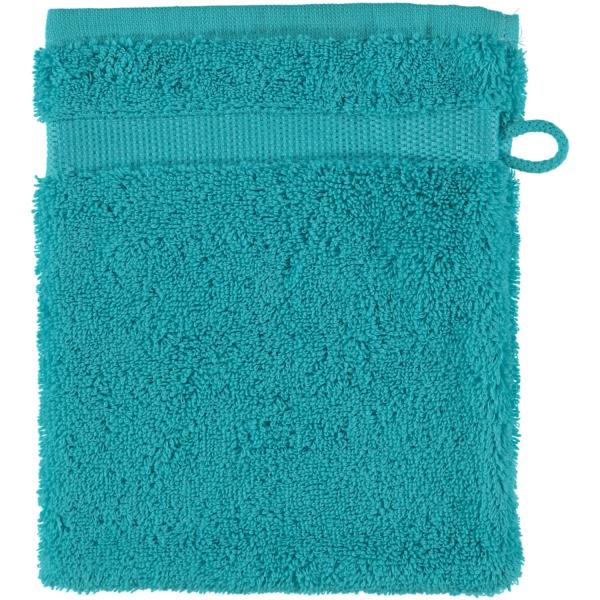 Rhomtuft - Handtücher Princess - Farbe: azur - 41 Waschhandschuh 16x22 cm