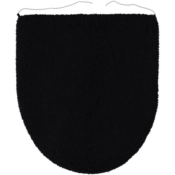 Rhomtuft - Badteppiche Aspect - Farbe: schwarz - 15 Deckelbezug 45x50 cm