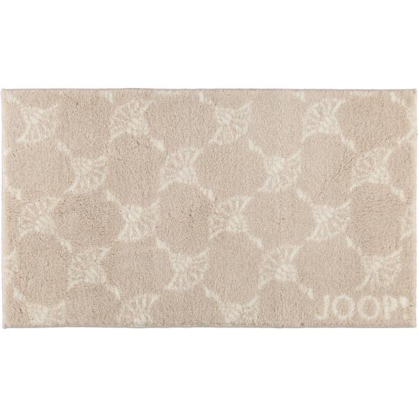 JOOP! Badteppich New Cornflower Allover 142 - Farbe: Natur - 020 70x120 cm