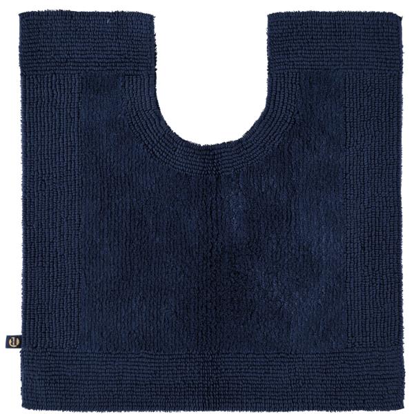 Rhomtuft - Badteppiche Prestige - Farbe: kobalt - 84 Toilettenvorlage mit Ausschnitt 60x60 cm