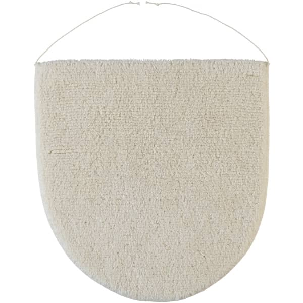 Rhomtuft - Badteppiche Prestige - Farbe: natur-jasmin - 20 Deckelbezug 45x50 cm