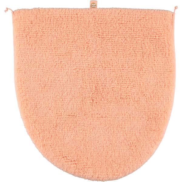 Rhomtuft - Badteppiche Prestige - Farbe: peach - 405 Deckelbezug 45x50 cm