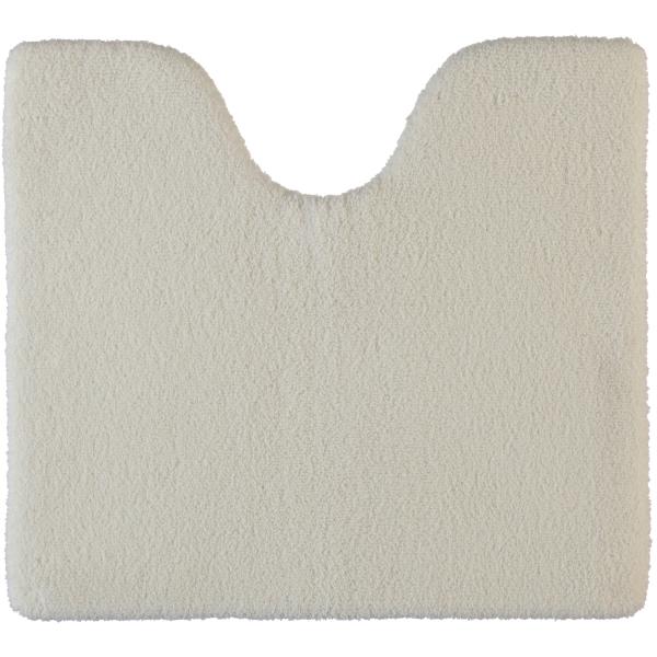 Rhomtuft - Badteppiche Square - Farbe: ecru - 260 Toilettenvorlage mit Ausschnitt 55x60 cm