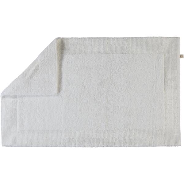 Rhomtuft - Badteppiche Prestige - Farbe: weiss - 01 50x75 cm