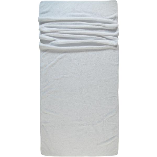 Rhomtuft - Handtücher Loft - Farbe: weiß - 01 Saunatuch 80x200 cm
