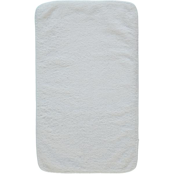 Rhomtuft - Handtücher Loft - Farbe: weiß - 01 Gästetuch 30x50 cm