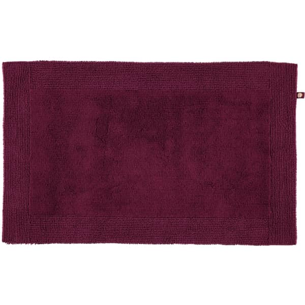 Rhomtuft - Badteppiche Prestige - Farbe: berry - 237 60x60 cm