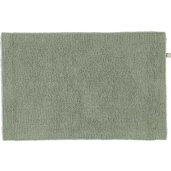 Rhomtuft - Badteppich Pur - Farbe: jade - 90 50x75 cm