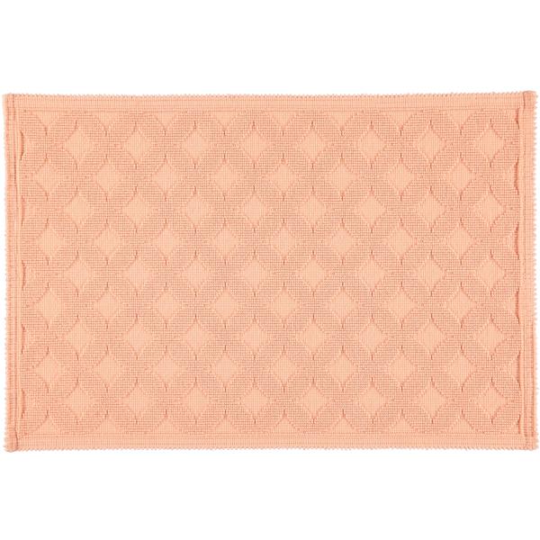 Rhomtuft - Badematte Seaside - Farbe: peach - 405 60x90 cm