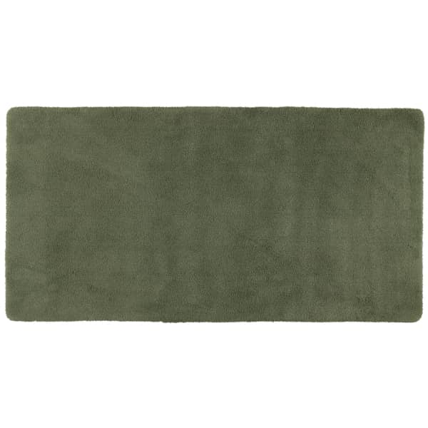 Rhomtuft - Badteppiche Square - Farbe: olive - 404 80x160 cm
