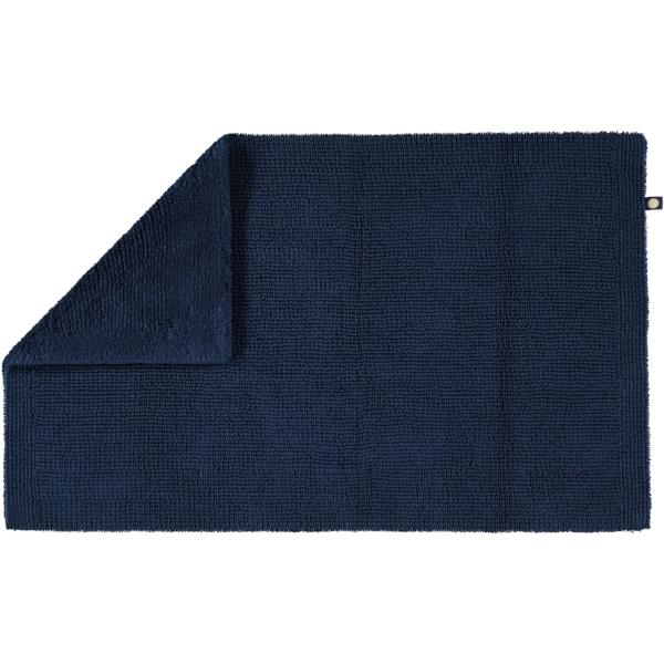 Rhomtuft - Badteppich Pur - Farbe: kobalt - 84 60x100 cm