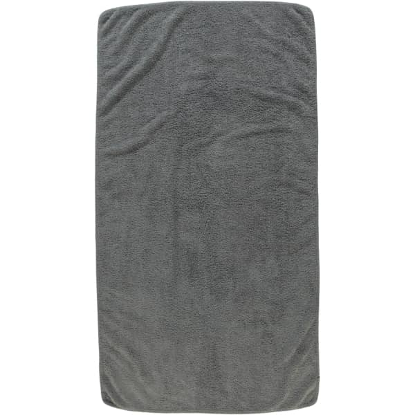Rhomtuft - Handtücher Loft - Farbe: kiesel - 85 Duschtuch 70x130 cm
