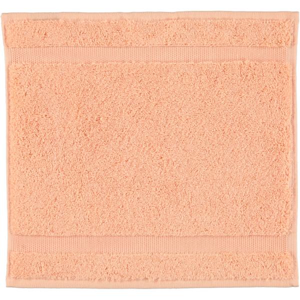 Rhomtuft - Handtücher Princess - Farbe: peach - 405 Seiflappen 30x30 cm