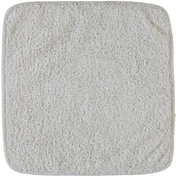 Rhomtuft - Handtücher Loft - Farbe: perlgrau - 11 Seiflappen 30x30 cm