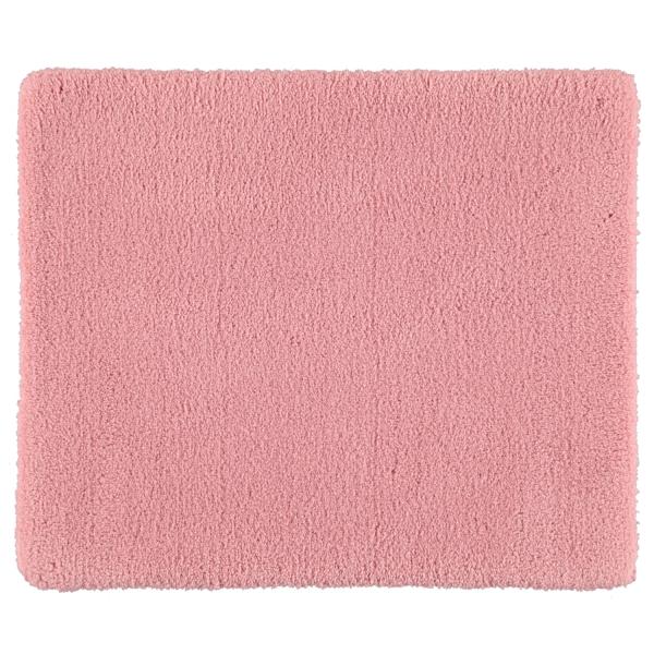Rhomtuft - Badteppiche Square - Farbe: rosenquarz - 402 50x60 cm