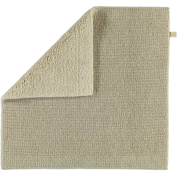 Rhomtuft - Badteppich Pur - Farbe: beige - 42 60x60 cm