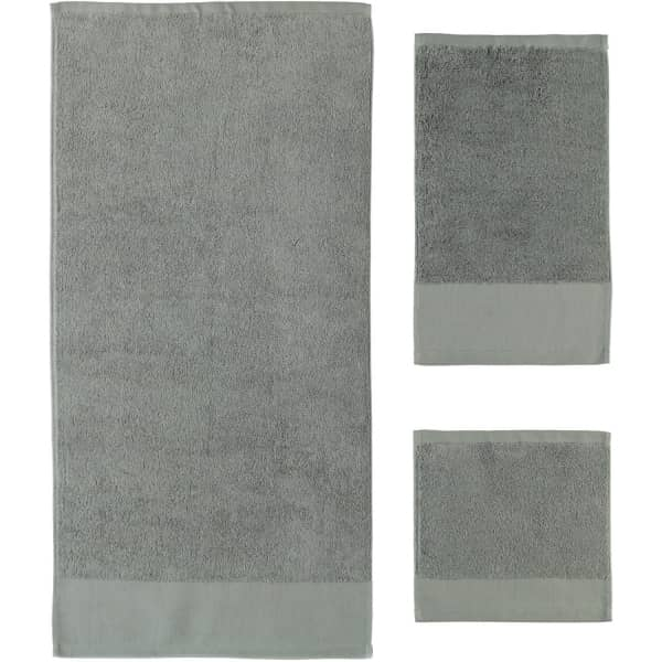 Rhomtuft - Handtücher Comtesse - Farbe: kiesel - 85