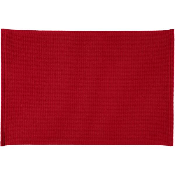 Rhomtuft - Badteppiche Plain - Farbe: carmin - 18 70x120 cm