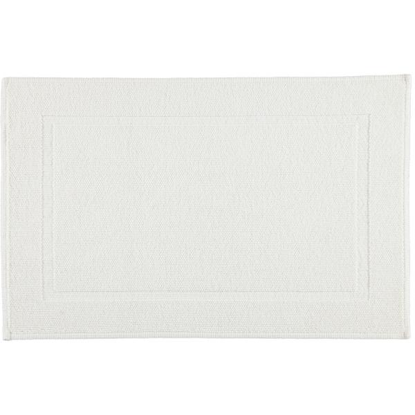 Rhomtuft - Badematte Pearl 51 - Farbe: weiß - 01 60x90 cm