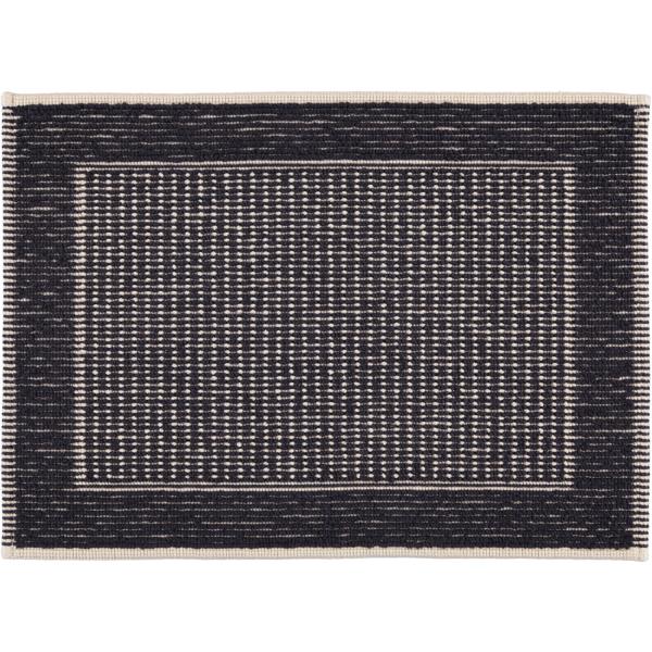 Rhomtuft - Badematte Sailor - Farbe: navy/natur - 1512 50x70 cm